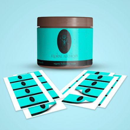 vinyl rectangle stickers